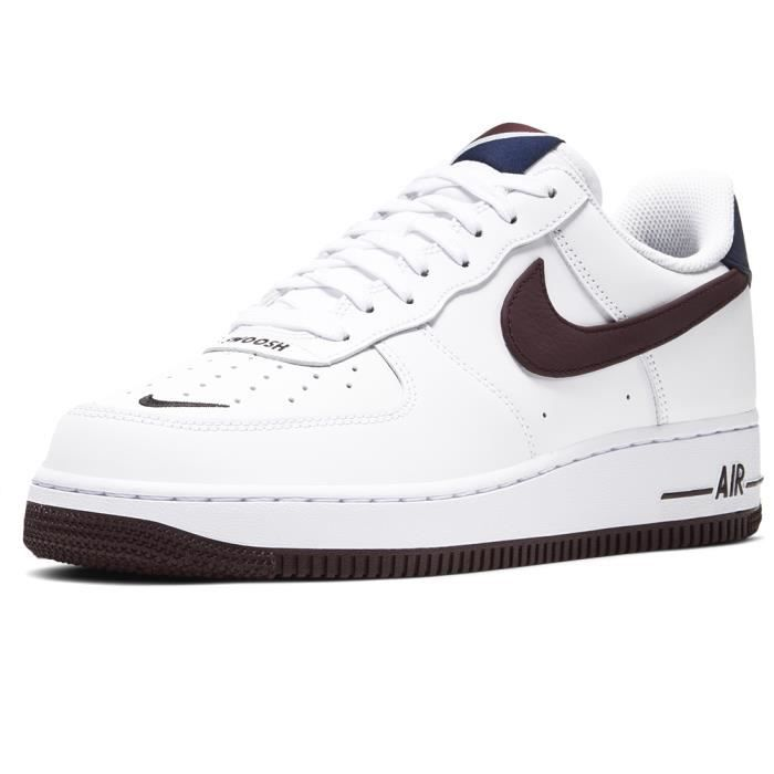 air force 1'07 blanc bordeaux femme