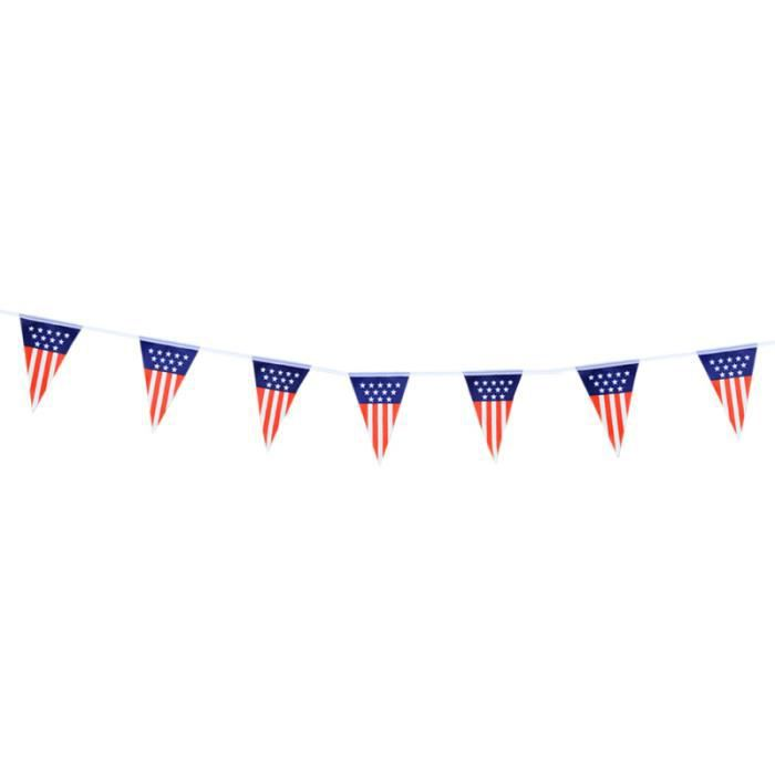 Hawaii 3 M Drapeau Bunting Party Garland Décoration Américain USA Etat Unis
