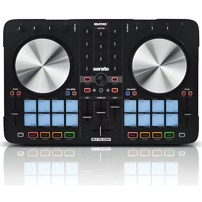 beatmix 2 mk2 contr leur dj usb midi reloop surface de. Black Bedroom Furniture Sets. Home Design Ideas