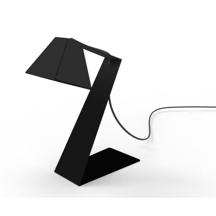 Lampe de bureau design big zlight noire achat vente for Lampe de bureau originale