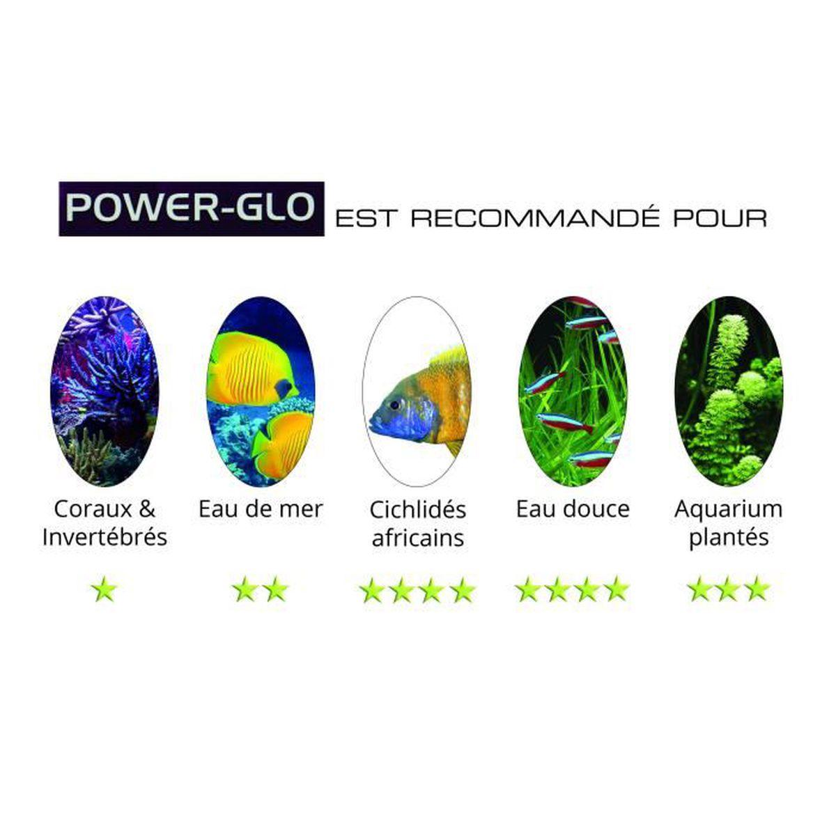 42 Aquarium Lighting Glo Power Glo /& Aqua Bulbs 40W