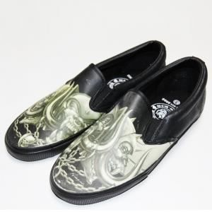 Slip on, gothique, rock, emo DRAVEN MOTORHEAD XXX