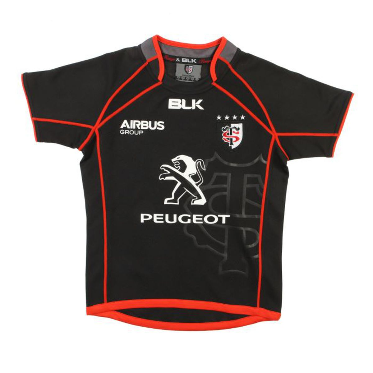 le sport sports collectifs blk maillot rugby stade toulousain junior f  tojr