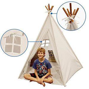 TENTE TUNNEL D'ACTIVITÉ Tee pipi intérieure - tente tipi pour enfants avec