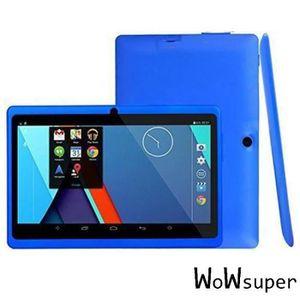 TABLETTE ENFANT bleu 7'' tablette tactile bluetooth pour enfant Q8