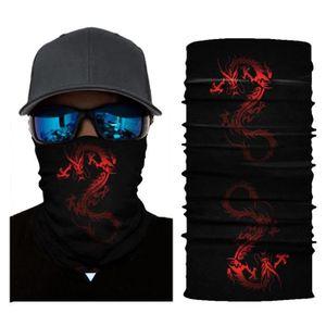 MASQUE DE PROTECTION tenoens® Vélo moto tête écharpe cache-cou Masque d
