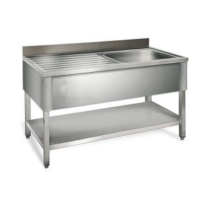 desserte cuisine inox achat vente desserte cuisine inox pas cher cdiscount. Black Bedroom Furniture Sets. Home Design Ideas