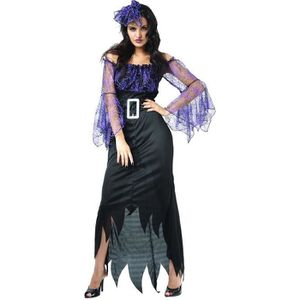 Black Widow Cristal Araignée Collier Vampire Sorcière Halloween Costume Accessoire