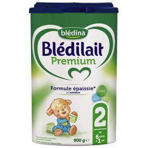 LAIT BÉBÉ BLEDILAIT Premium Lait en poudre 2e age 900g