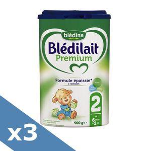 LAIT BÉBÉ PACK BLEDILAIT Premium Lait en poudre - 2ème Age -