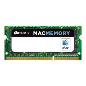 MÉMOIRE RAM Corsair Mac Memory DDR3 4 Go SO DIMM 204 broches 1