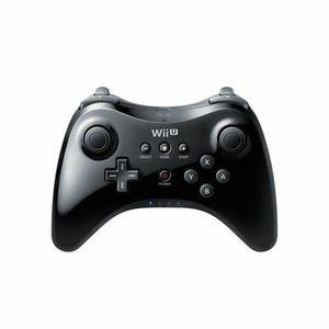 MANETTE JEUX VIDÉO Manette Classique Wii U Pro Noire