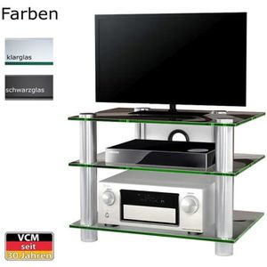 MEUBLE TV NETASA meuble tv hifi video commode rangement verr