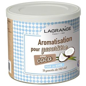 YAOURTIÈRE - FROMAGÈRE LAGRANGE Aromatisation coco pour yaourts