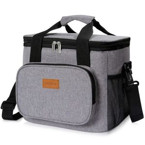 SAC ISOTHERME Lifewit 15L Sac Isotherme Sac-Glacière, Lunch Bag