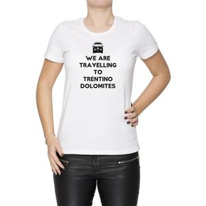 T-SHIRT Tee-shirt - We Are Travelling To Trentino Dolomite bfbb468ef63
