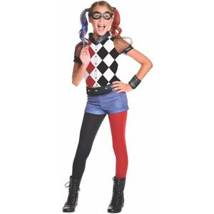 DÉGUISEMENT - PANOPLIE Officiel DC Super Deluxe Hero fille Harley Quinn C
