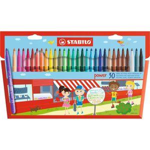 FEUTRES STABILO - 30 feutres de coloriage STABILO Power -