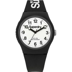 MONTRE Montre homme SUPERDRY URBAN STYLE SYG164BW. Sport.