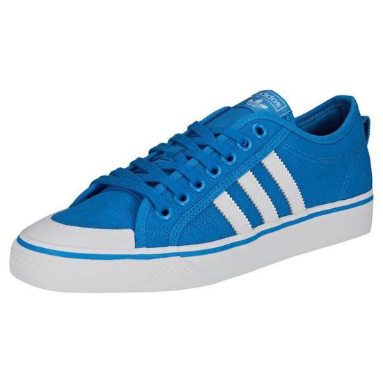 Adidas Nizza Homme Baskets Bleu Blanc - 11 UK Bleu blanc ...