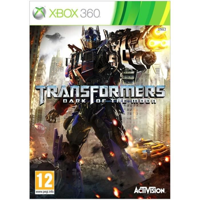 JEUX XBOX 360 TRANSFORMERS: DARK OF THE MOON / Jeu console X360