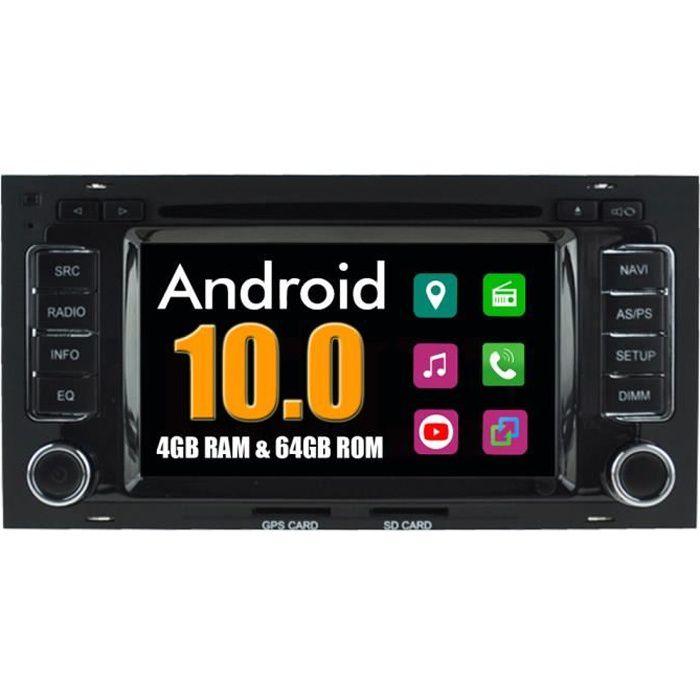 RoverOne Autoradio Bluetooth GPS Navigation pour Volkswagen Touareg T5 Multivan 2002-2010 Android Stéréo DVD MirrorLink WiFi