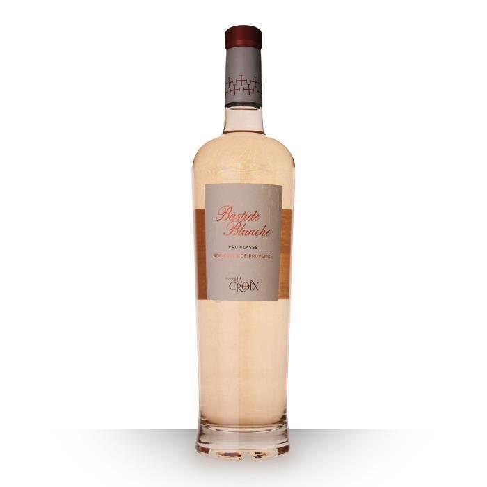 Domaine de la Croix Bastide Blanche 2018 AOC Côtes de Provence - 75cl - Vin Rosé