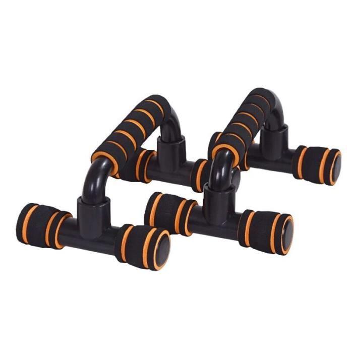 barre pour traction -9 en 1 musculation système de panneau de support de poussée Fitness...- Modèle: Type D Yellow - ZOAMFWZDA06490