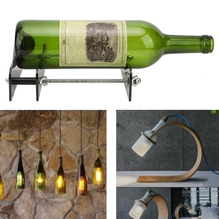 Kit Coupe-Bouteille De Vin Accessoire De Coupe De Verre À Bière Bricolage Création De Machine-Outil -NIM