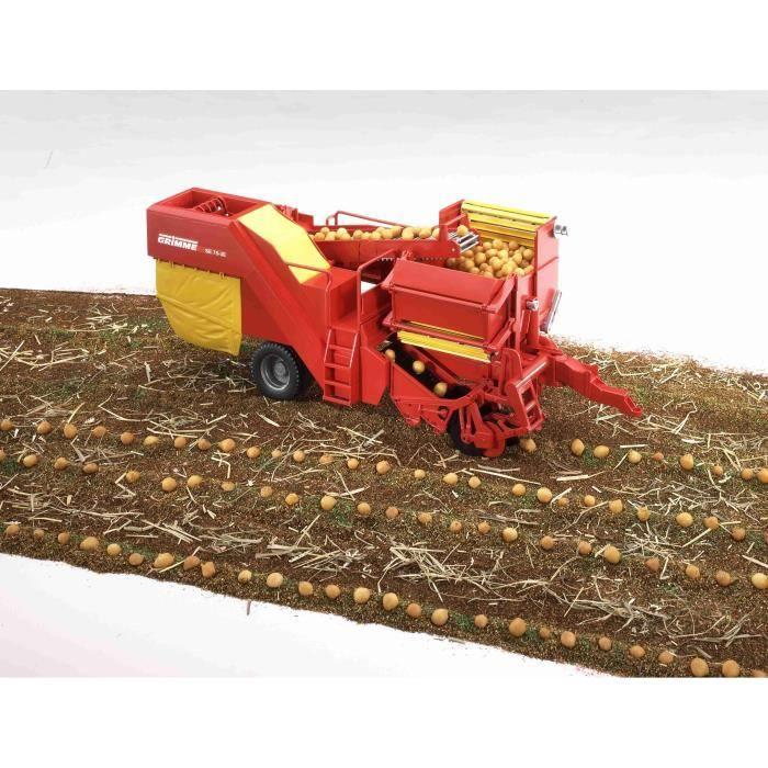 BRUDER - Arracheuse de pommes de terre GRIMME SE75-30 - 49 cm