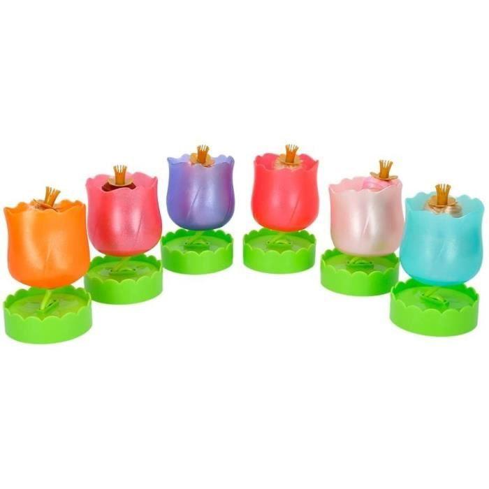 ColorBaby - Muñeca Floraly Girls perfumada, 6 colores surtidos (43930)