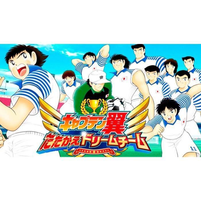 Poster Affiche Olive et Tom Captain Tsubasa Manga Cartoon Japon Football 42cm x 75cm