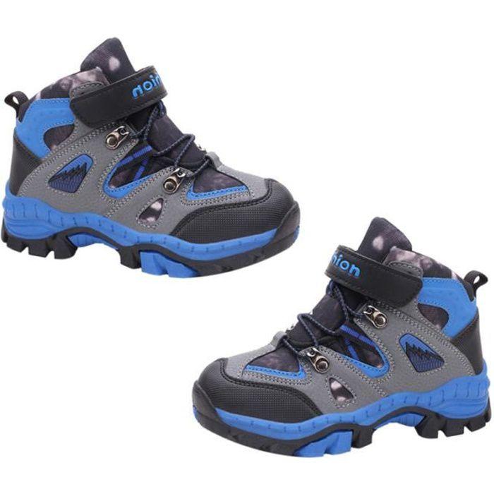 1 paire étanche anti-dérapant escalade sneaker alpinisme chaussure Trekking chaussures de randonnée pour enfants garçons BASKET