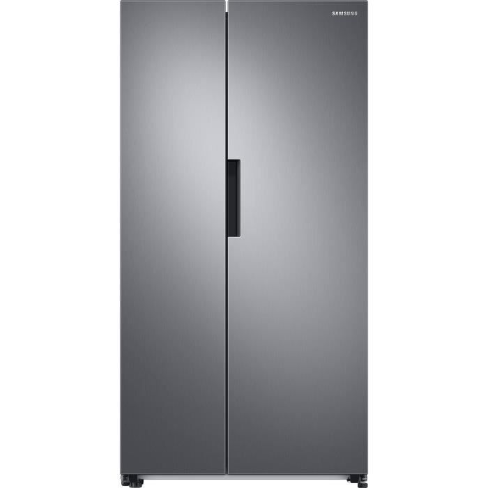 Samsung RS66A8100S9 - Réfrigérateur Side by Side - 647L (411+236) - Froid ventilé plus - /F - 91x178cm - Silver