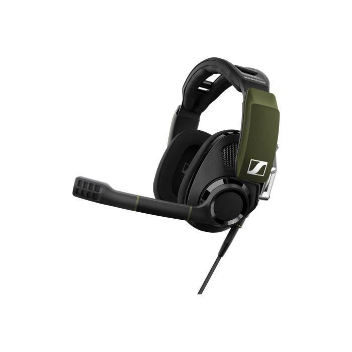 Sennheiser GSP 550 Gaming casque pleine taille filaire USB noir