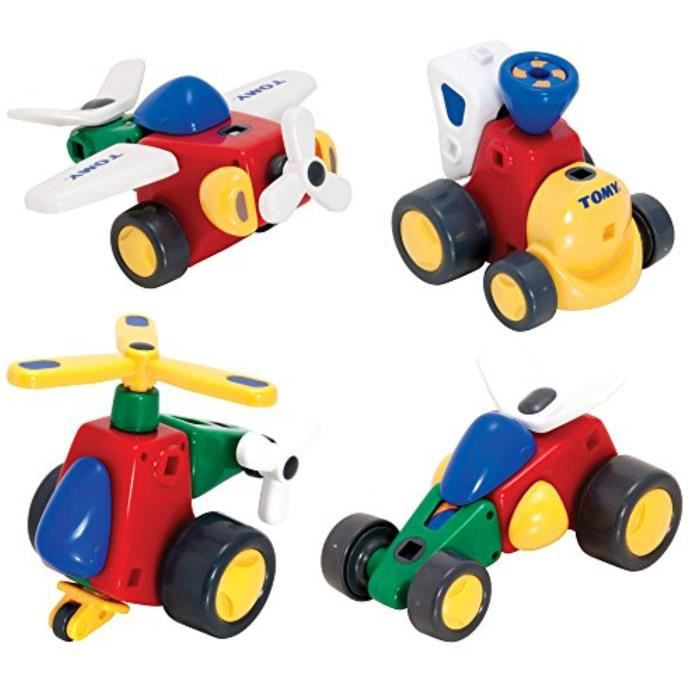 Voiture Electrique TOMY GOOK4 Toomies Constructables Véhicules