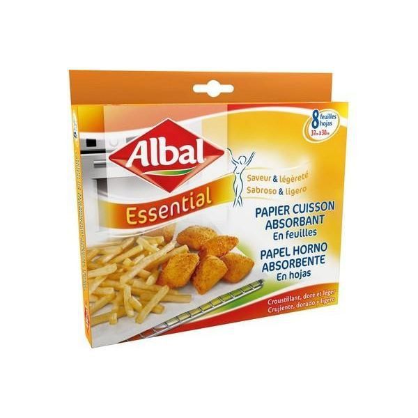Papier albal de cuisson absorbant en feuille les points - Papier absorbant cuisine ...