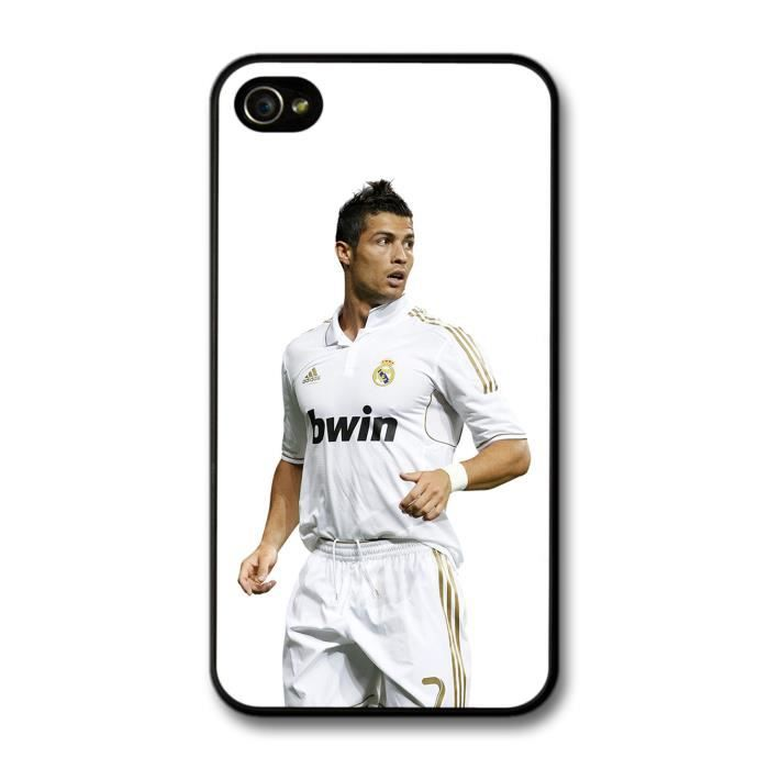 Cristiano ronaldo playing real madrid cf football coque pour iphone 4 4s achat housse tui - Housse de couette cristiano ronaldo ...
