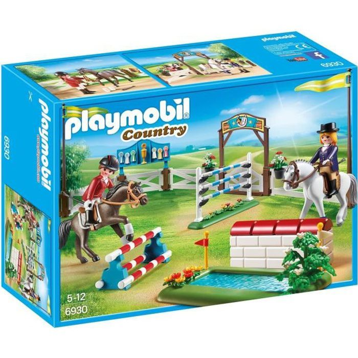 ecurie playmobil achat vente jeux et jouets pas chers. Black Bedroom Furniture Sets. Home Design Ideas