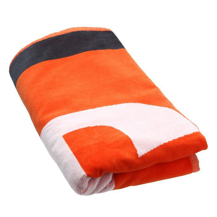 diesel serviette de plage helleri homme orange blanc et noir achat vente echarpe foulard. Black Bedroom Furniture Sets. Home Design Ideas
