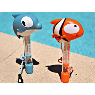 Thermom tre poisson cartoon 22cm pour pi achat vente for Thermometre piscine connecte