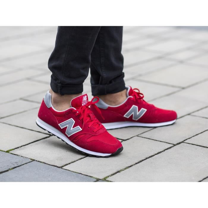 basket new balance homme rouge