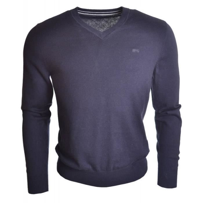 Pull McGregor Gover pour homme Bleu marine - Achat   Vente pull ... 666f766451ec