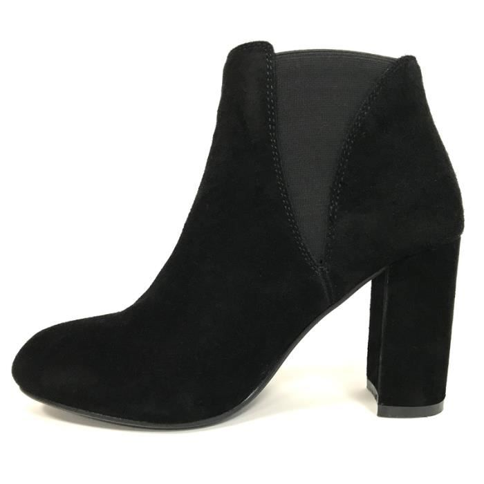 Boots, Bottines Cassis cote d'azur Bottine Lassie Noir