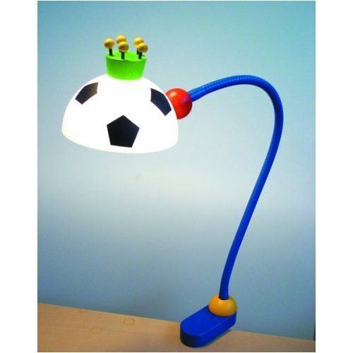 niermann 230 lampe de bureau football achat vente lampe de bureau football plastique bois. Black Bedroom Furniture Sets. Home Design Ideas