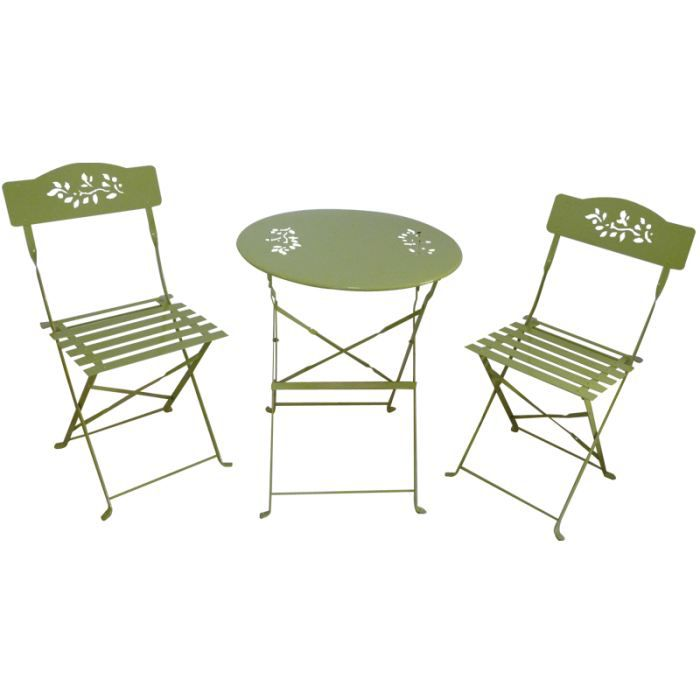 Salon de jardin table ronde m tal prix salon de jardin for Peinture table de jardin metal