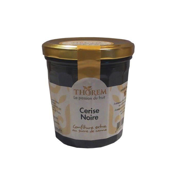CONFITURE - MARMELADE Confiture de Cerise Noire, pot 375 gr
