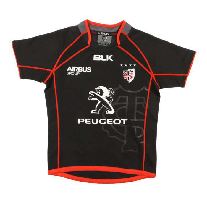 blk maillot rugby stade toulousain junior achat vente maillot polo blk maillot stade. Black Bedroom Furniture Sets. Home Design Ideas