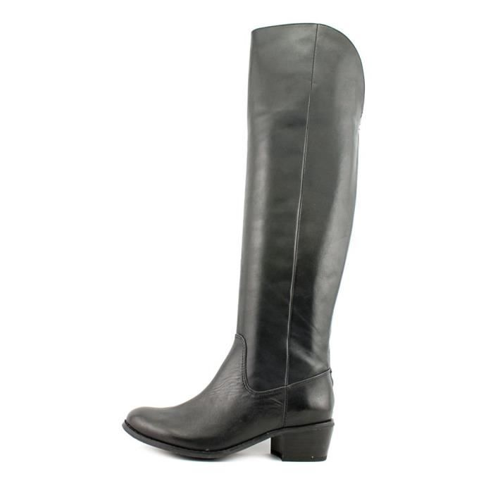 INC International Concepts Beverley Wide calf Femmes Cuir Botte