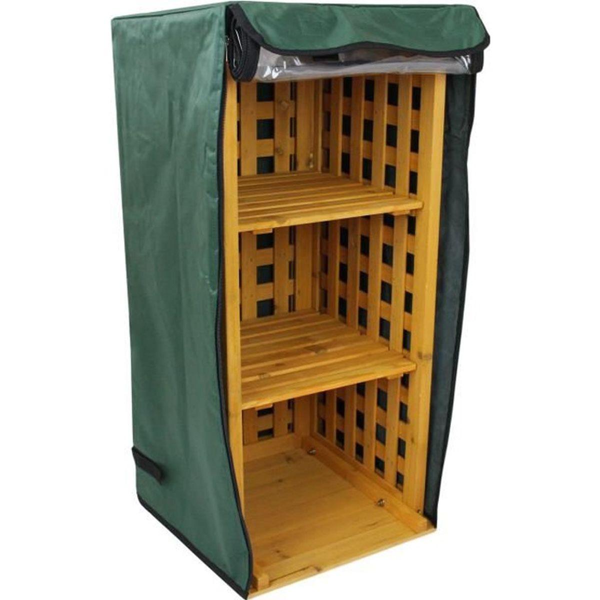 Rangement Pour Le Bois abri bûches en bois / meuble de rangement d'extérieur pour